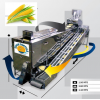 OPPORTUNITY FOR ASIAN AREA C9000 Corn Tortilla Machine